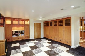 All Phase Construction — Mt Tabor After, Media Room
